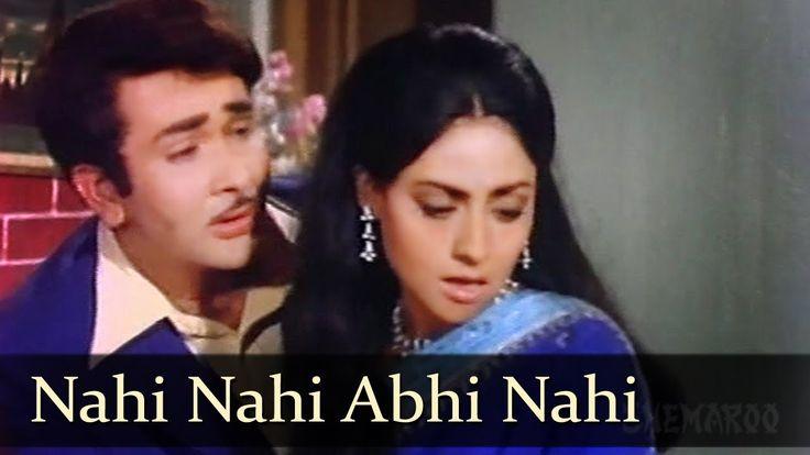 Nahi Nahi Abhi - Randhir Kapoor - Jaya Bhaduri - Jawani Diwani Songs - K...