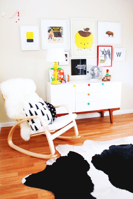 Wyatt's Bright & Bold Abode — Nursery Tour