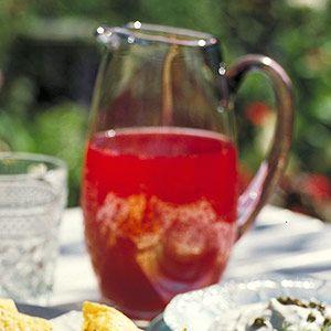 Raspberry Punch #recipes #drinks #tea #ice