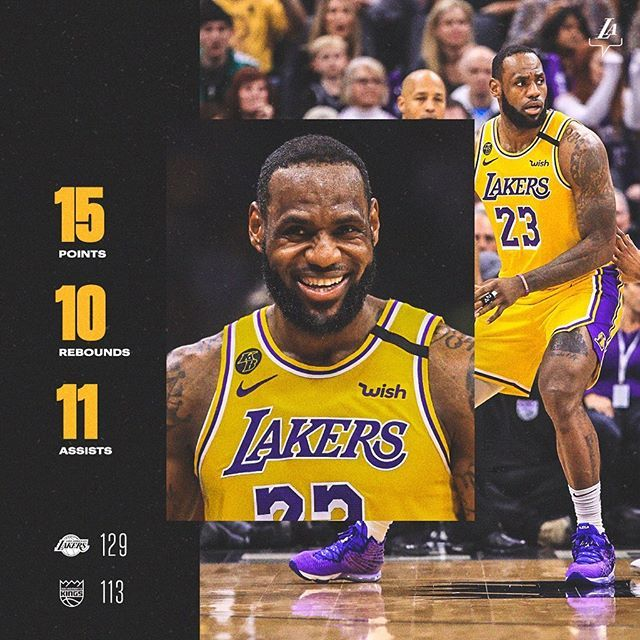 Los Angeles Lakers On Instagram Back Home To L A With The W Lakerswin In 2020 Los Angeles Lakers Lakers Lakers Win