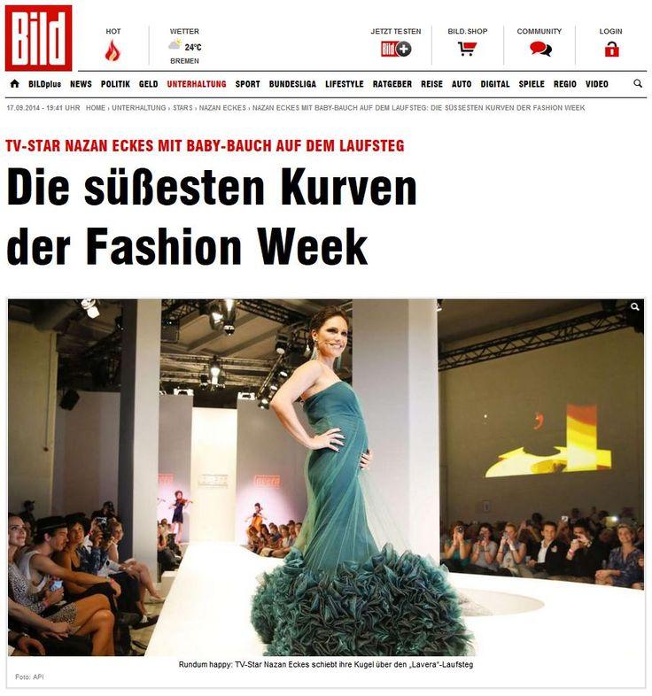 https://www.facebook.com/pages/Anna-Kania-Couture/511068885672197?ref=ts&fref=ts -- - Wir freuen uns über die Veröffentlichung in der BILD Zeitung und bedanken uns bei Nazan Eckes für die gute Zusammenarbeit    #Nazan Eckes #Eckes #gown  #tulle   #transparent  #pregnant  #couture  #model  #applications  #pearls  #swarovski  #ornaments  #organza  #skirt #mermaid #stretch  #train Quelle: http://www.bild.de/unterhaltung/leute/nazan-eckes/im-siebten-monat-auf-dem-laufsteg-36756294.bild.html