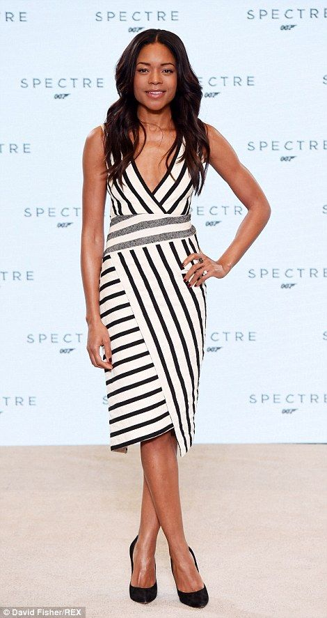 Returning: Naomie Harris, who played Eve Moneypenny in Skyfall, is set to return for the next Bond film SPECTRE as the secretary to the now deceased M