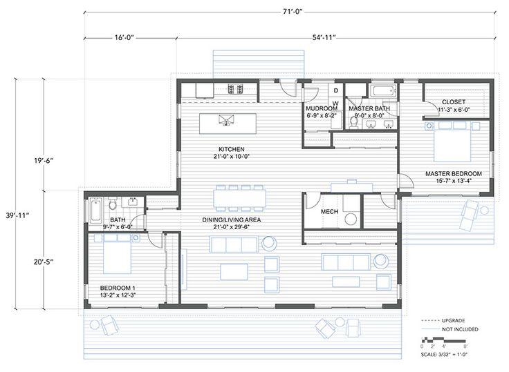 164 best dwell images on pinterest home ideas kitchen for Zeb pilot house floor plan