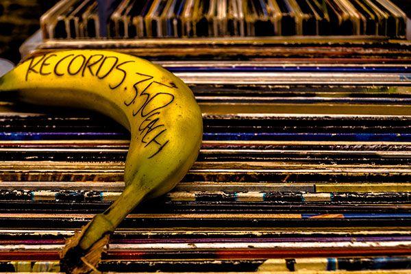 Banana record, by Daniel Klovning on Behance