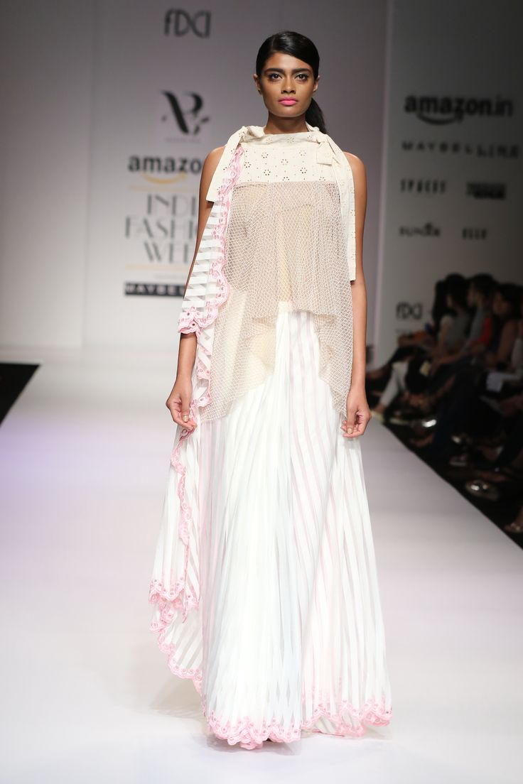 #AIFWSS16 #ArchanaRao #spring #summer #fun #quirky #pastels #different #unique #patterns #layers #accessories #urban #original #feminine #calm #fun