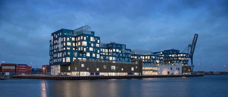 Copenhagen International School Nordhavn by C.F. Møller Architects - Denmark's largest, solar-powered and most sustainable international school.