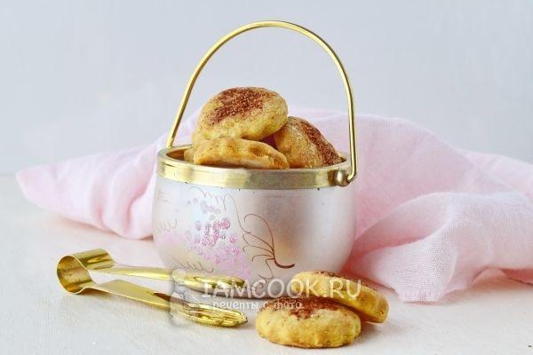 Печенье на пиве и маргарине