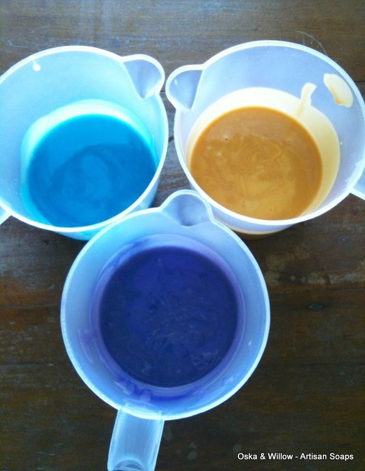 Preparing colours for our soaps made here at Oska & Willow on the Sunshine Coast Hinterland, Queensland, Australia. FACEBOOK - OSKA & WILLOW INSTAGRAM - OSKA & WILLOW