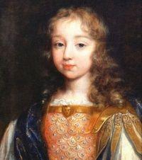 Op dit plaatje zie je Lodewijk XIV als 7-jarige. Waar ik het over ga hebben: dat Lodewijk XIV koning wordt in 1643. De koning voor hem overleed toen Lodewijk XIV 5 jaar was alleen dan kan je nog geen land besturen. Zijn moeder nam het die tijd over tot dat Lodewijk XIV 15 jaar is. Toen werd hij koning en ook het grote voorbeeld van het absolutisme. Hij had alle macht en hoefde naar niemand te luisteren alleen aan God.
