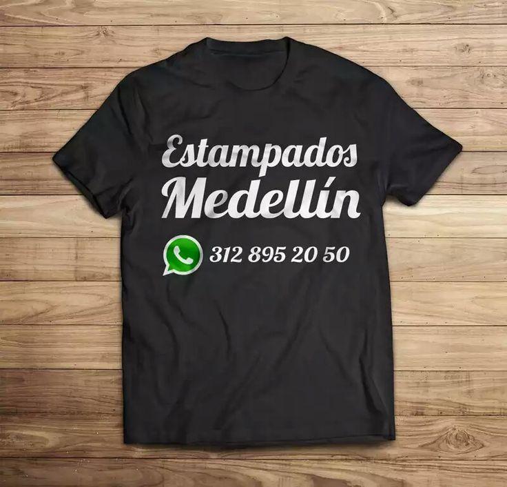 Camisetas personalizadas en Medellín