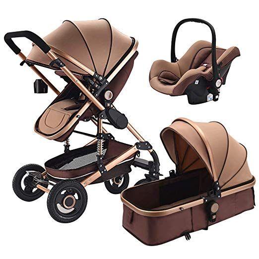 Olpchee Luxury High Landscape Baby Stroller Foldable Shockproof