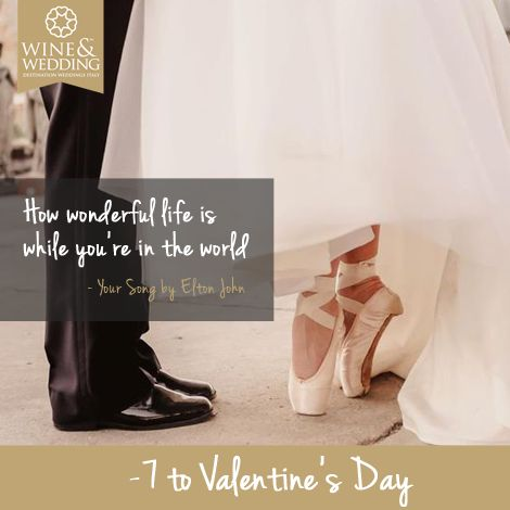 -7 ... Waiting for #ValentinesDay #Love songs for your first #wedding dance / Your Song by Elton John