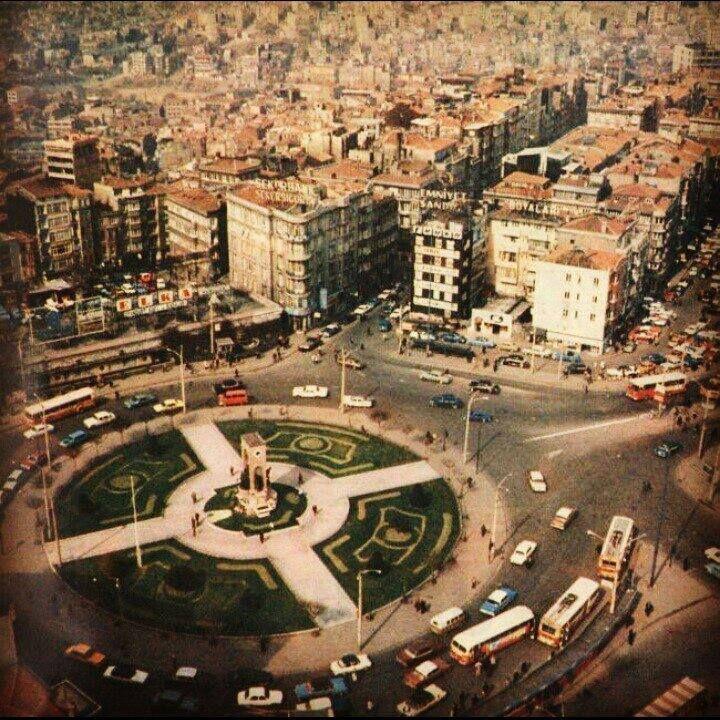 Havadan Taksim Meydanı / 1975