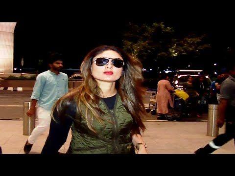 Kareena Kapoor SPOTTED at Mumbai airport.