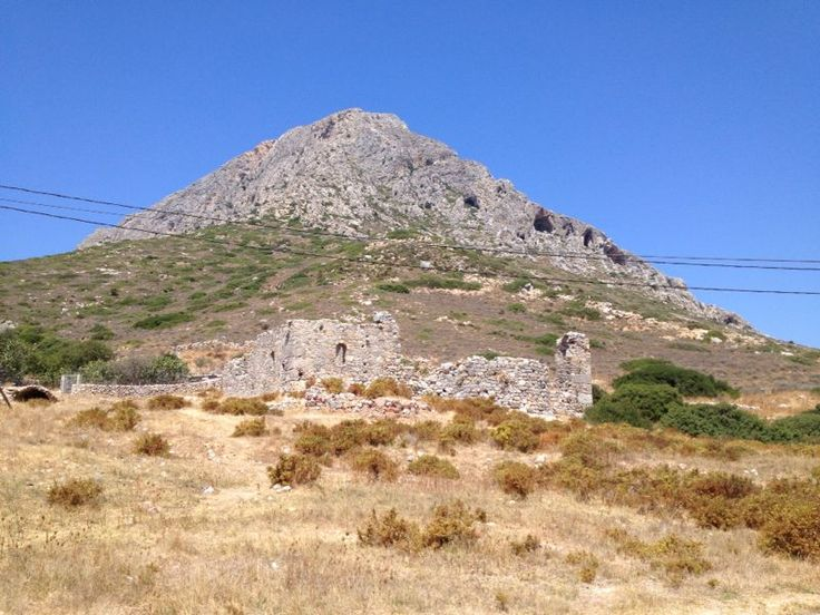 Early Christian Basilika of Ayios Vassilios, Telendos Island