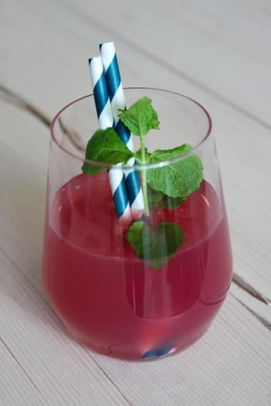 Granaatappel ice tea (bekijk video) - Njam Tv - Steffi Vertriest !