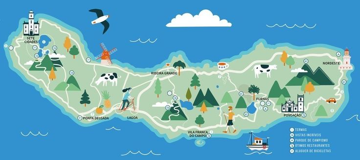 """In September this year, we visited the largest and """"main"""" island of Azores, with the goal to explore, surf, and do a bunch of outdoor activities. The website Visit Azores is relatively full about all of the activities, and we had a look at how to connect all those dots together. ..."""