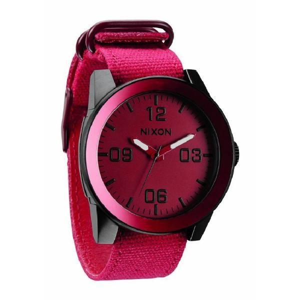 Relojes Nixon #Nixon #Watch #Pink #Black #Luxury #Watches #Relojes #Reloj #Relojería @NIXON