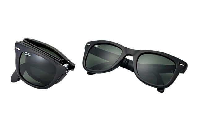 09f164496e6 Look who s looking at this new Ray-Ban Wayfarer Folding Classic
