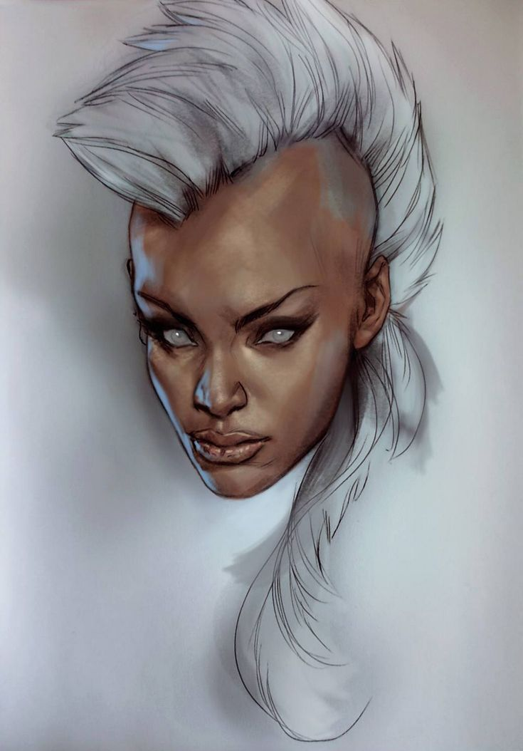 Storm by Ben Oliver More X-Men @ http://groups.yahoo.com/group/Dawn_and_X_Women & http://groups.google.com/group/Comics-Strips & http://groups.google.com/group/ComicsStrips & http://groups.yahoo.com/group/ComicsStrips