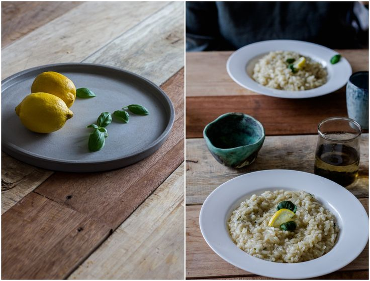 Lemon and basil risotto :: readeat.pl