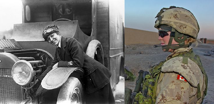 Canadian armed forces and women over the years canadian