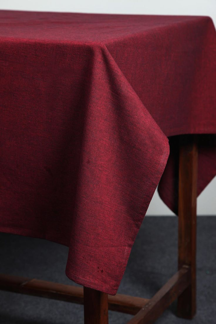 Solid Chambray Tablecloth by Suraaj Linens Check more at http://www.suraaj.com/product/solid-chambray-tablecloth/