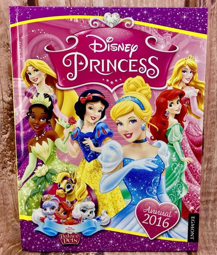 Disney Princess Annual 2016 palace pets glitter cover Egmont Publishing girls