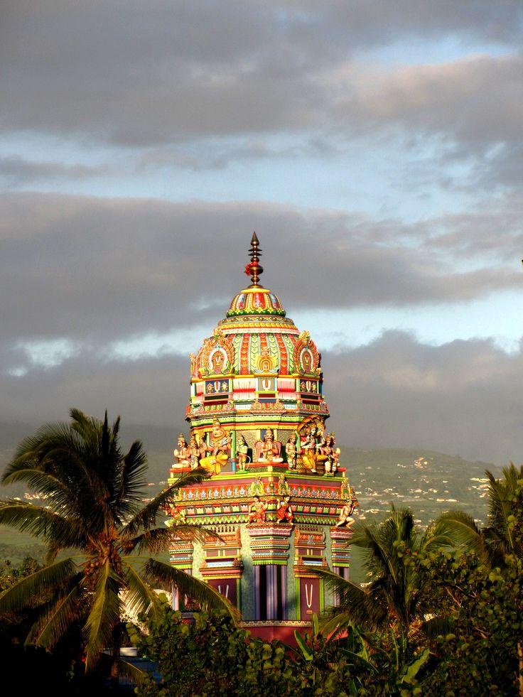 temple ravine blanche - st pierre - ile de la réunion - océan indien
