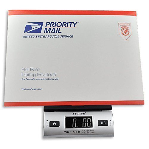 Accuteck Digital Postal Shipping Scale Mail Letter Electronic LCD w/ AC Adapter #ACCUTECK