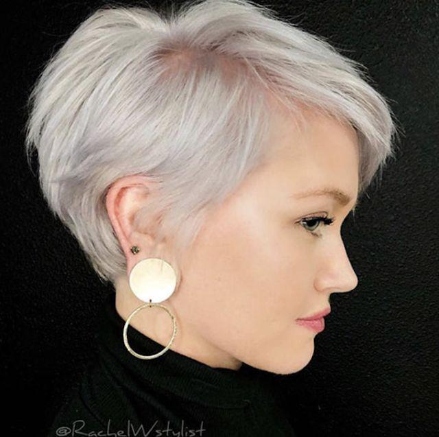 kurze Frisuren für über 50 – #Frisuren # über 50 #Kurz