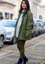 Air Force Jacket, Milan Fashion