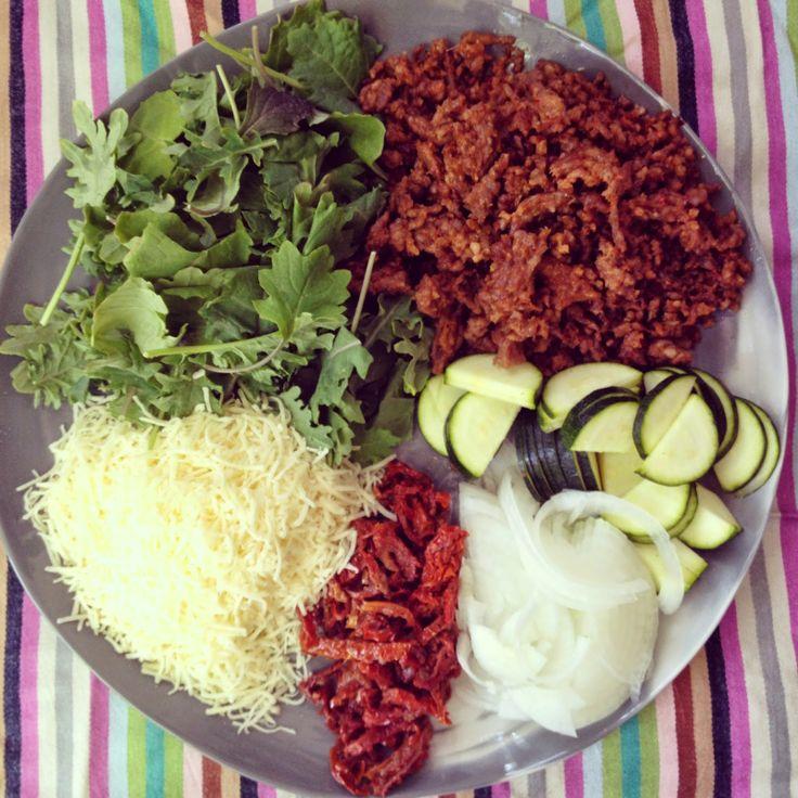 Italian Sausage, Kale, Zuchinni, Sundried Tomato, & Gruyere Quiche