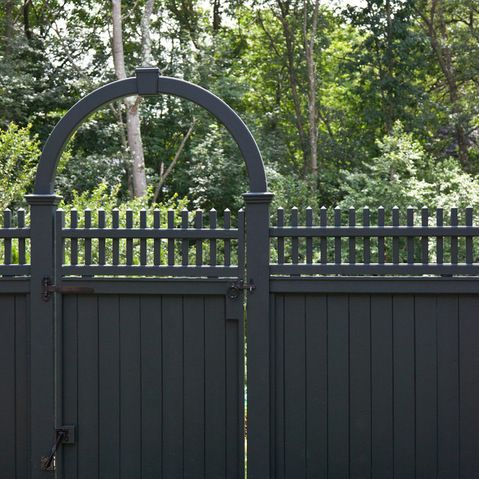 Stockade Fence Design Ideas, Pictures, Remodel and Decor