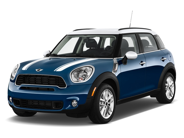 new 2013 MINI Cooper in the garage....