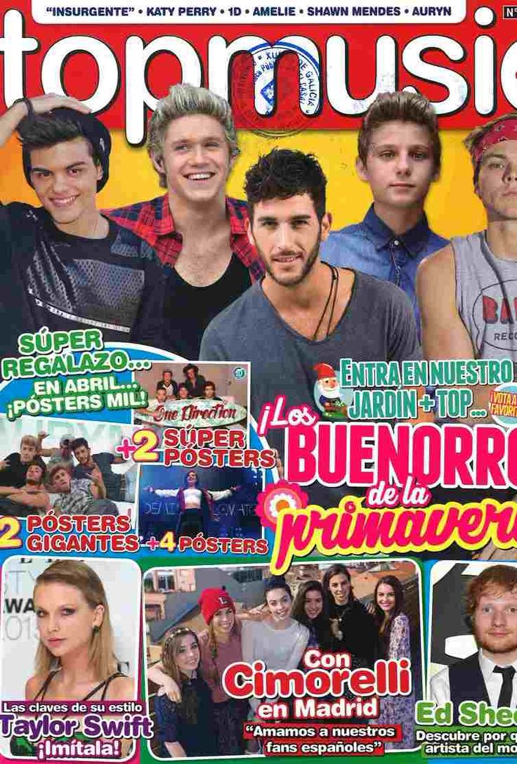 TOP MUSIC nº 175 (abril 2015) Katy perry, Shawn mendes