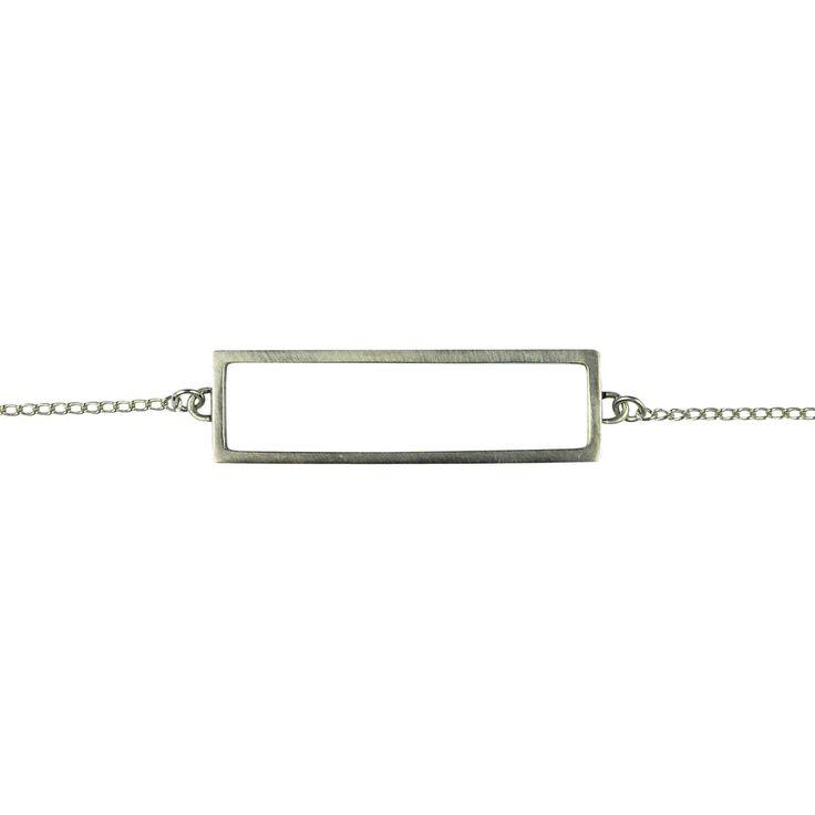 Rectangle Bracelet Silver