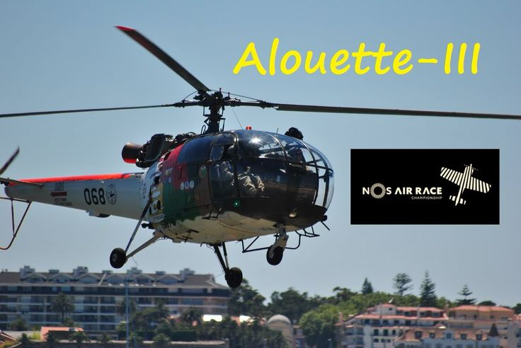 Sea rescue demonstration from the Portuguese Air Force, using an Alouette-III helicopter