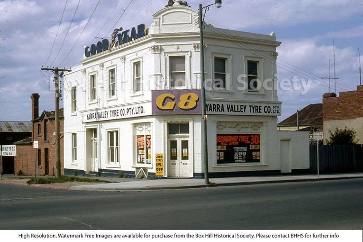 Cnr Whitehorse and Nelson rd old Criterion Bakery minus the verandahs