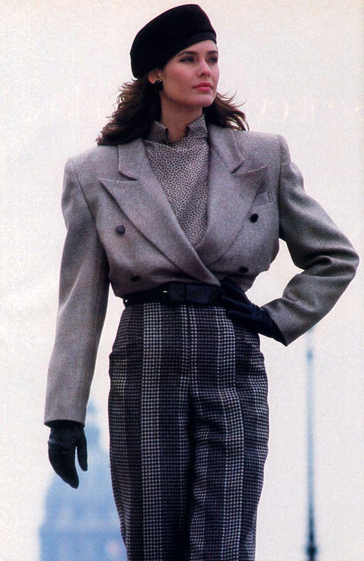 Erreuno Harper S Bazaar September 1985 80s Fashion