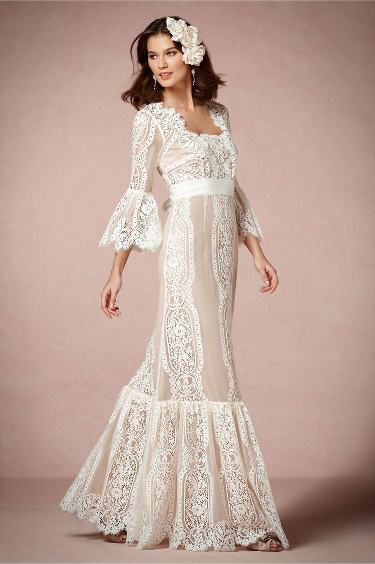 388 best Wedding Dresses images on Pinterest | Wedding frocks ...