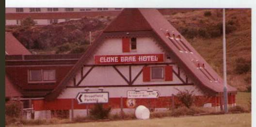 The Clune Brae Hotel, Port Glasgow.. Newark care home now. X