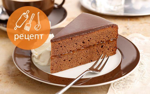 Шоколадный десерт «Захер Панна-котта» от Оксаны Мансыровой