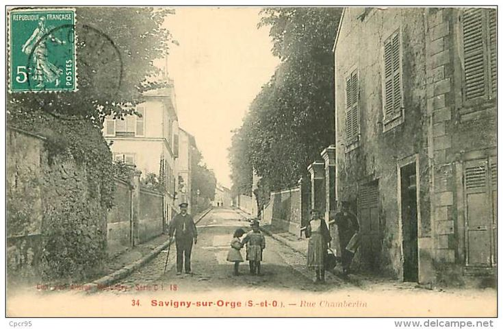 91.SAVIGNY-SUR-ORGE.N°85.RUE CHAMBERLIN - Savigny Sur Orge