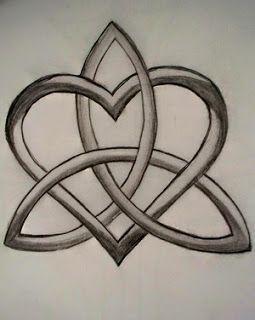 Eternity Heart Knot Tattoo Design Someday Tattoos Pinterest