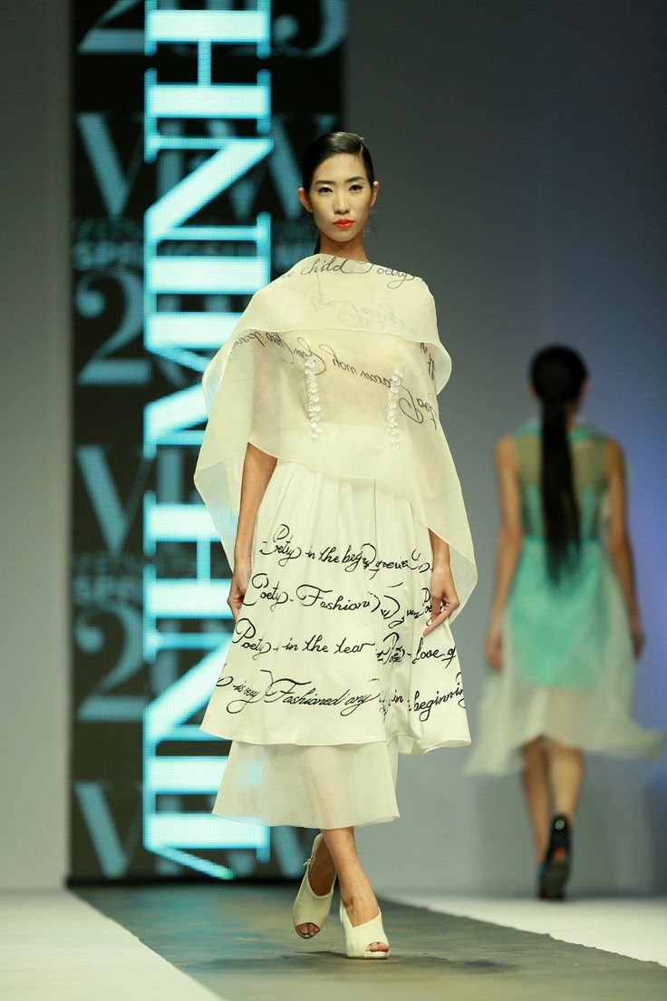 Vietnam Fashion Week SS15 - Ready to wear. Designer: Minh Minh. Photo: Nguyen Thanh Dat