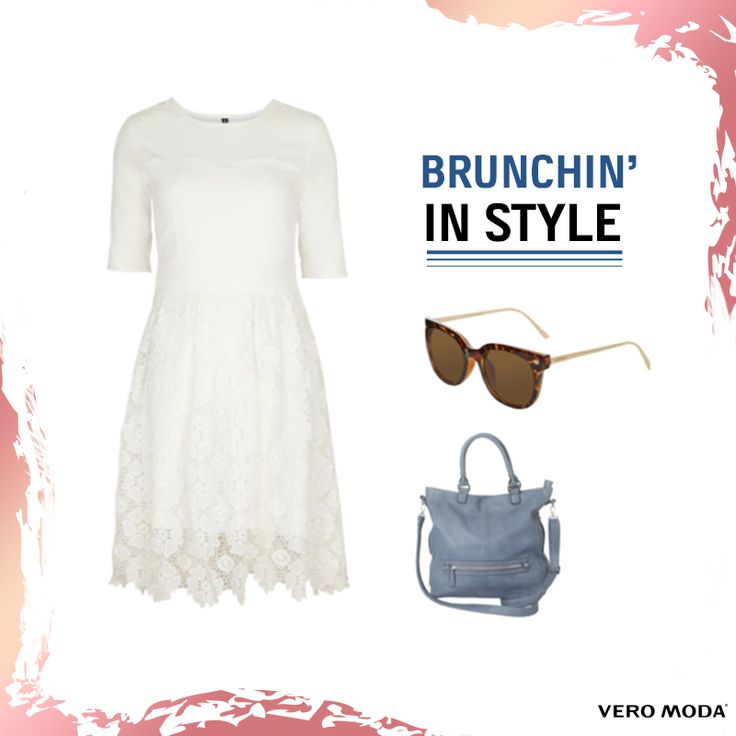 Perfect for a day brunch, this outfit is like a breath of fresh air on a hot summer day! Get the look at #VEROMODA #ForumCourtyard  Buy two dresses and get 30% OFF. #TRENDYVEROMODA