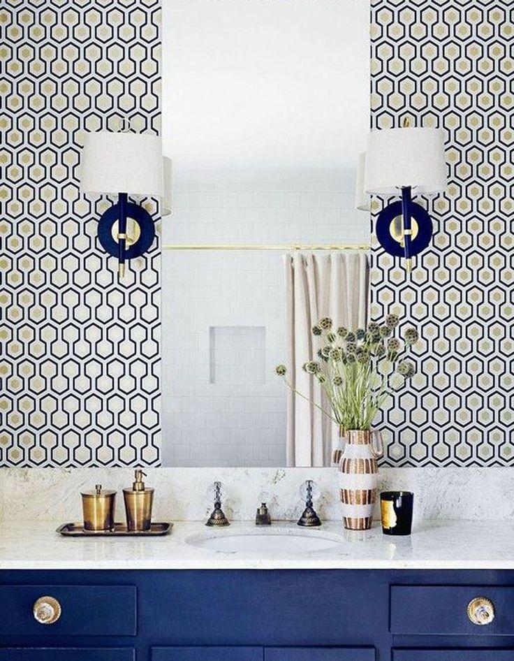 1000 id es sur le th me salle de bains papier peint sur pinterest salle de bains salle de. Black Bedroom Furniture Sets. Home Design Ideas