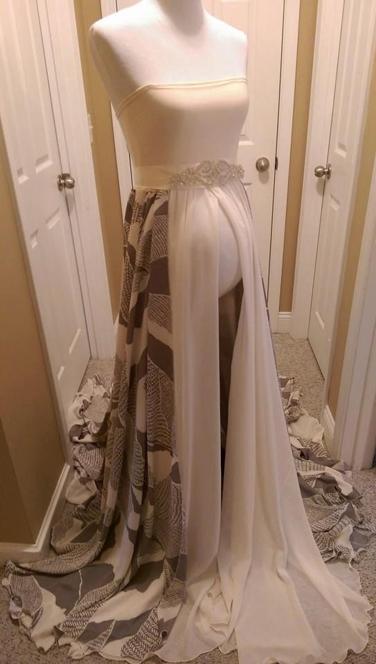 Magnificent Long Maternity Gowns Image Collection - Best Evening ...