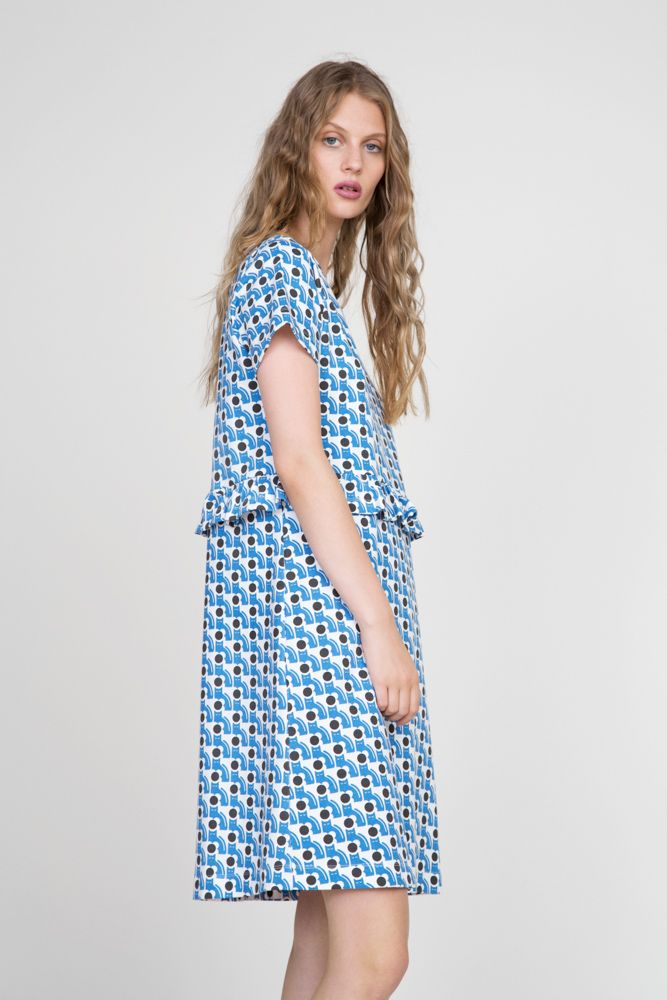 Orla Kiely lookbook for spring summer 16 photographed by Jessie Lily Adams